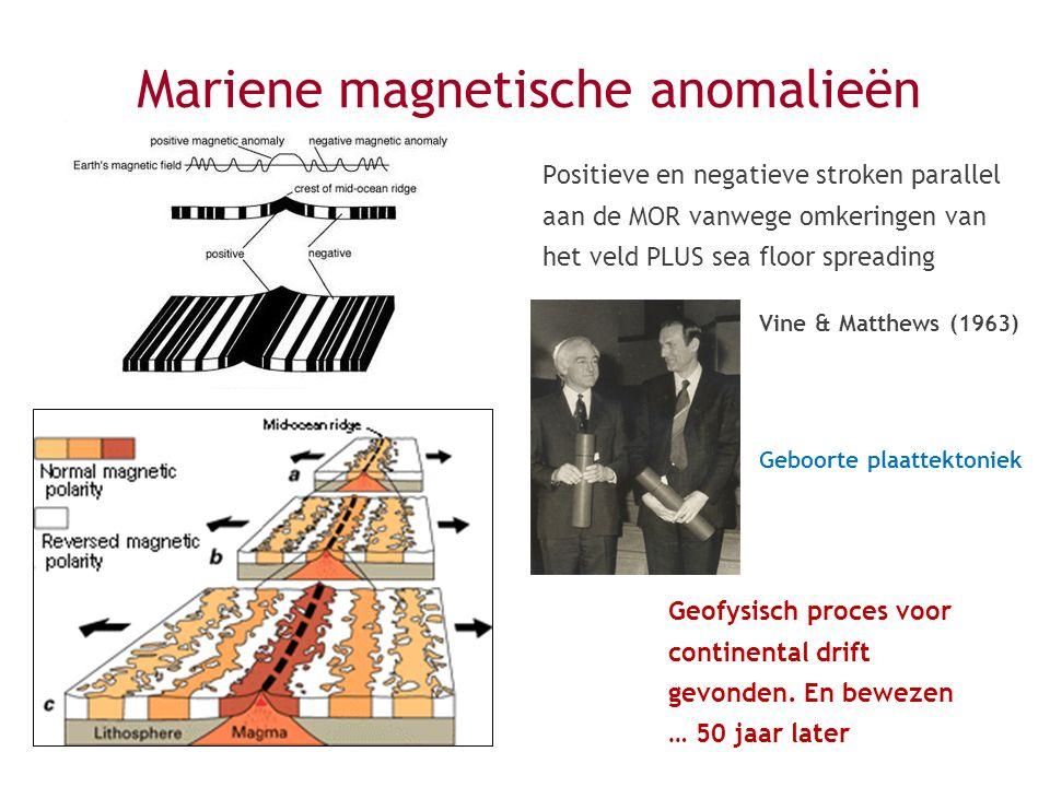 Mariene magnetische anomalieën