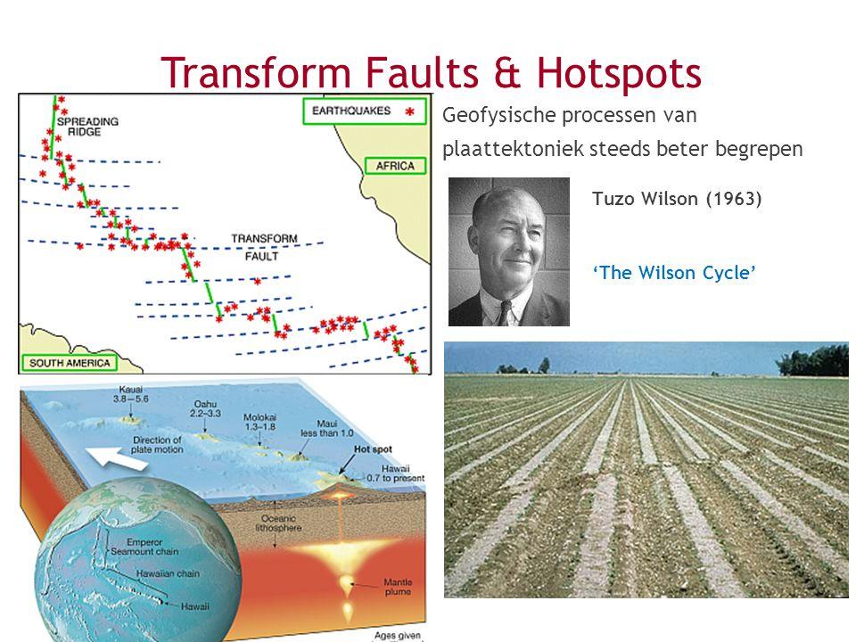 Transform Faults & Hotspots