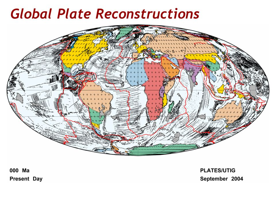 Global Plate Reconstructions