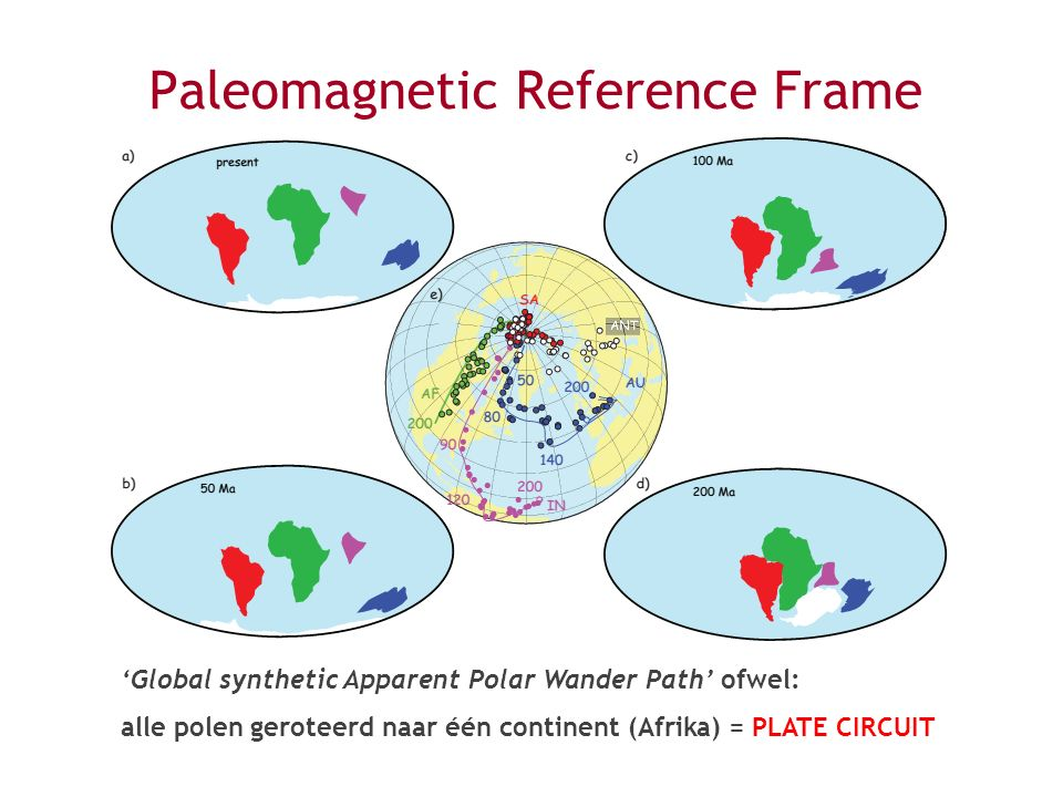 Paleomagnetic Reference Frame