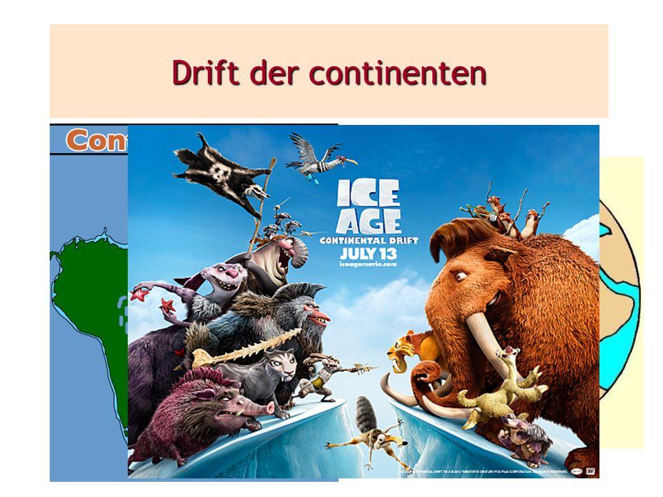 Drift der continenten