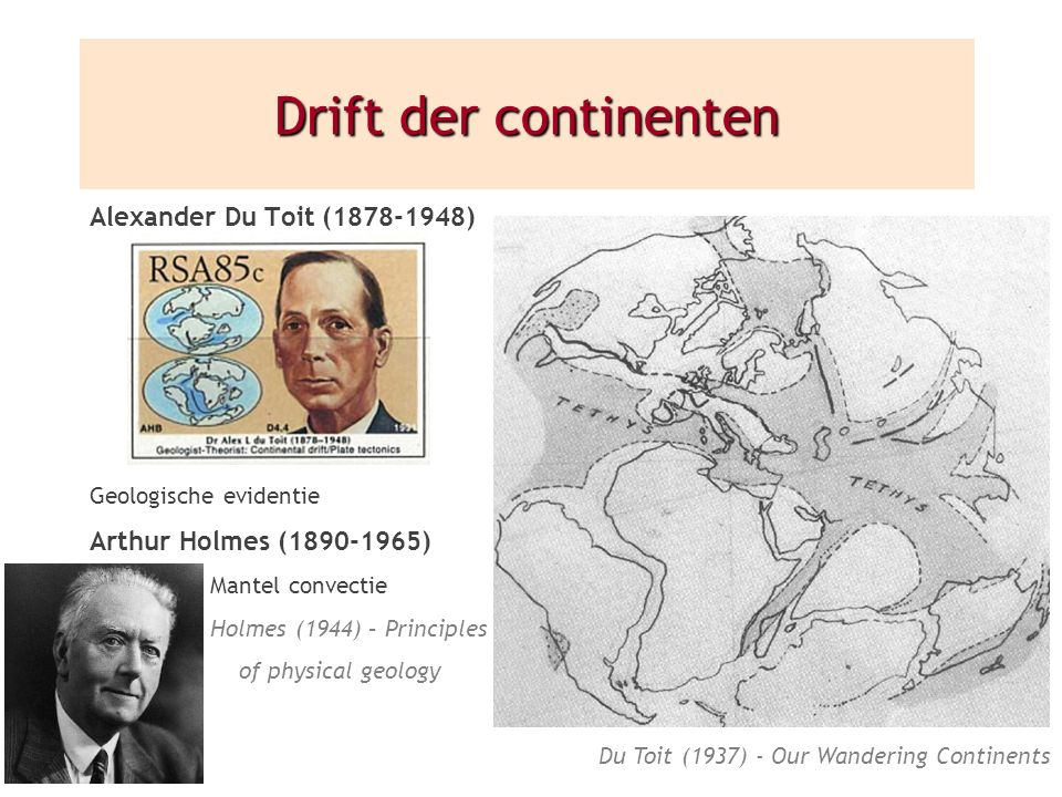 Du Toit (1937) - Our Wandering Continents