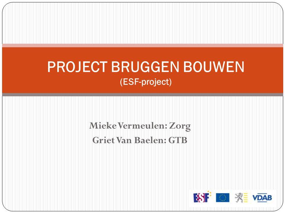 PROJECT BRUGGEN BOUWEN (ESF-project)