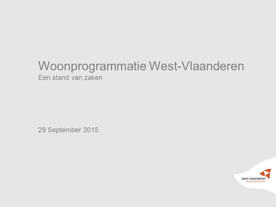 Woonprogrammatie West-Vlaanderen