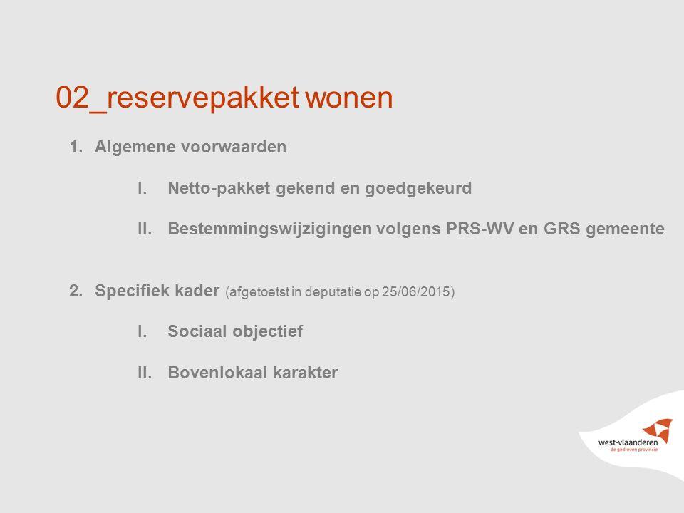 02_reservepakket wonen Algemene voorwaarden