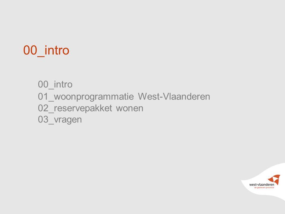 00_intro 00_intro 01_woonprogrammatie West-Vlaanderen