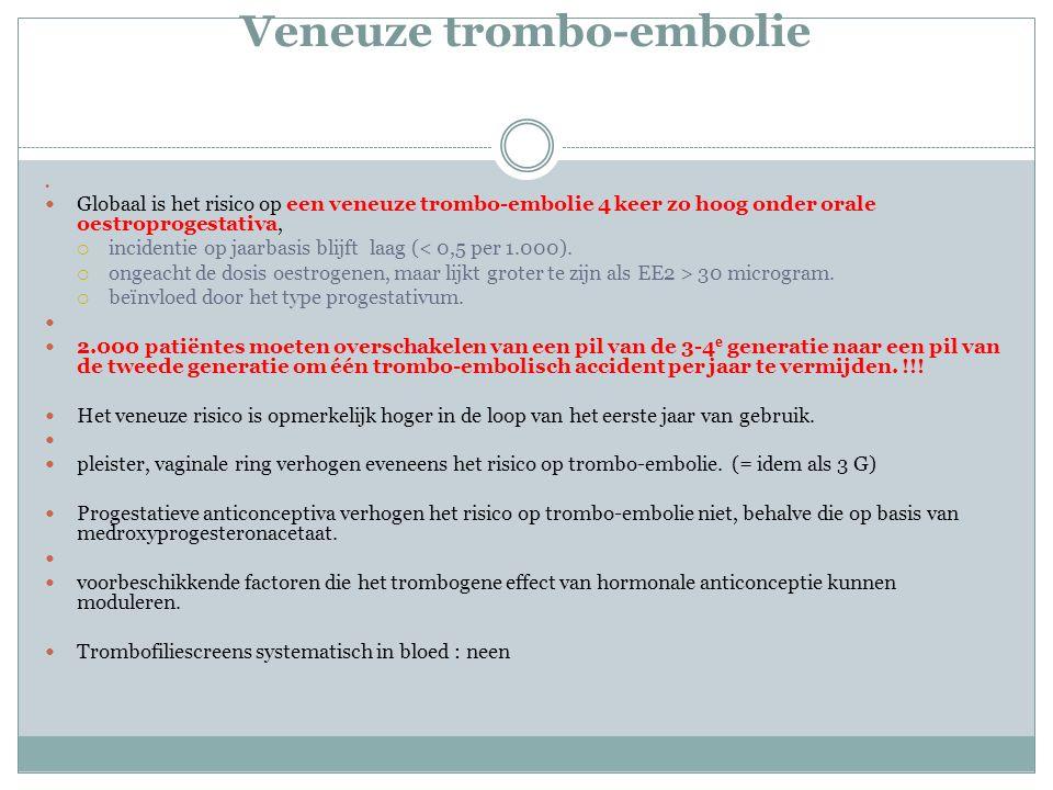 Veneuze trombo-embolie
