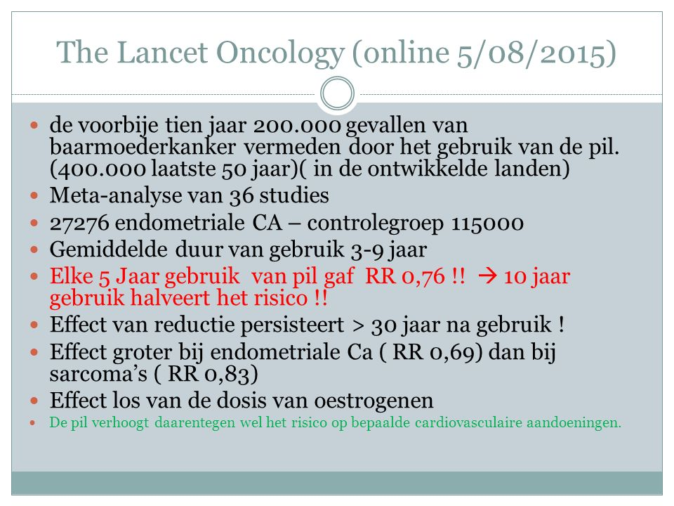 The Lancet Oncology (online 5/08/2015)