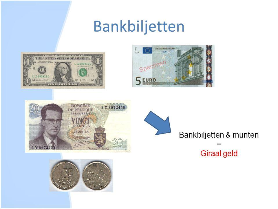 Bankbiljetten & munten