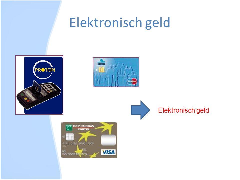 Elektronisch geld Elektronisch geld