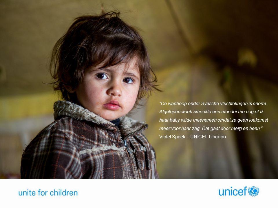De wanhoop onder Syrische vluchtelingen is enorm