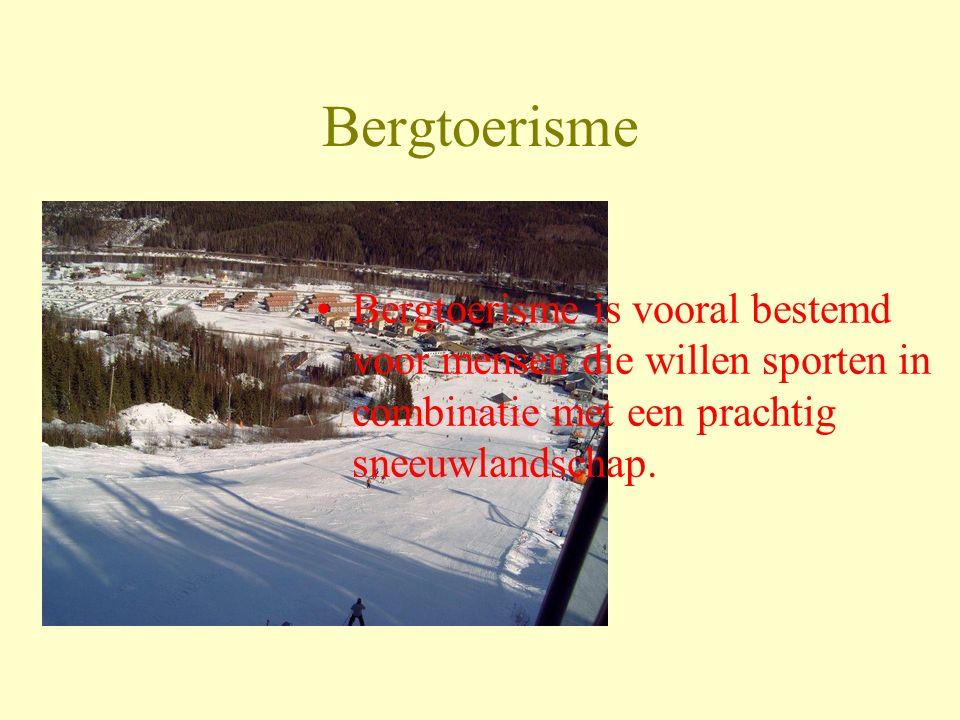 Bergtoerisme Bergtoerisme is vooral bestemd voor mensen die willen sporten in combinatie met een prachtig sneeuwlandschap.