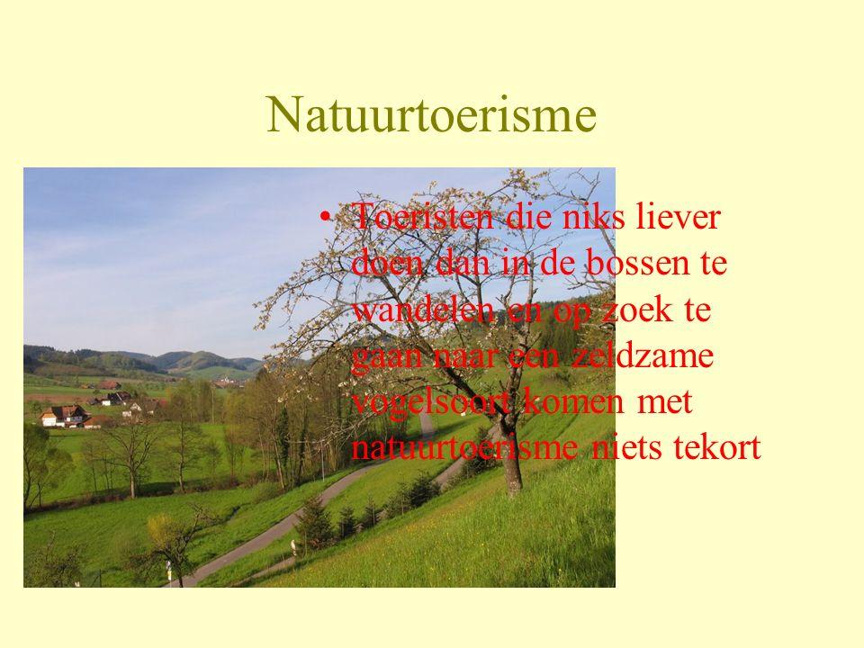 Natuurtoerisme