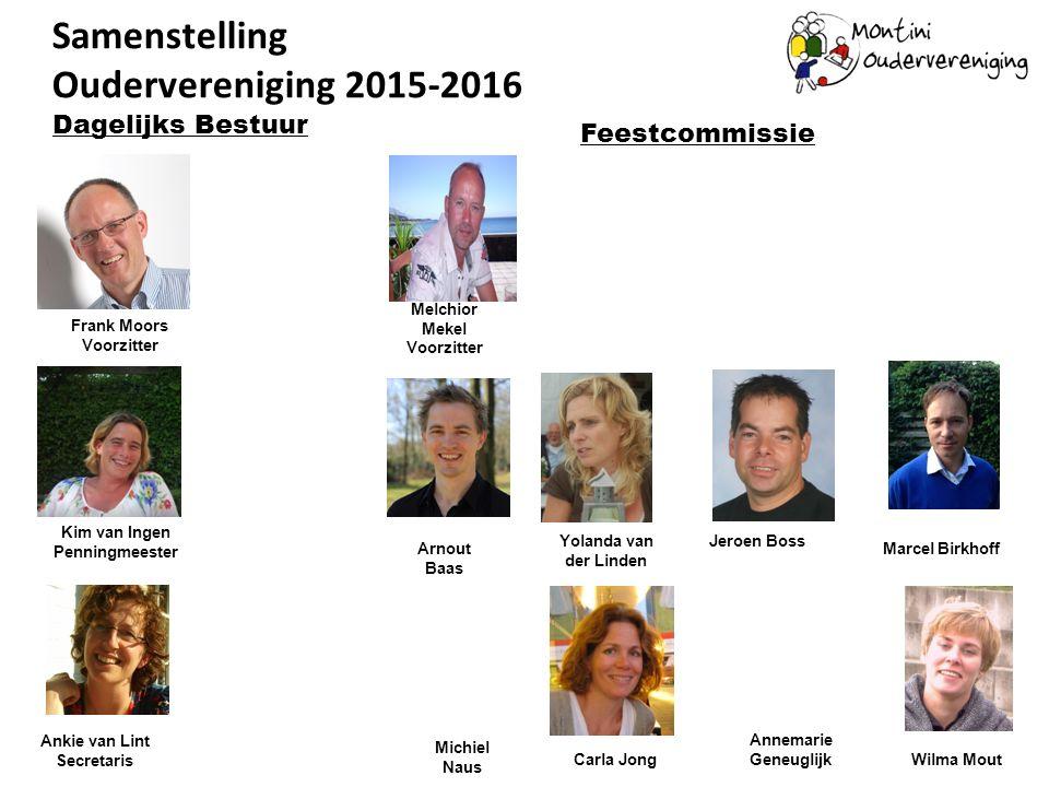 Samenstelling Oudervereniging 2015-2016