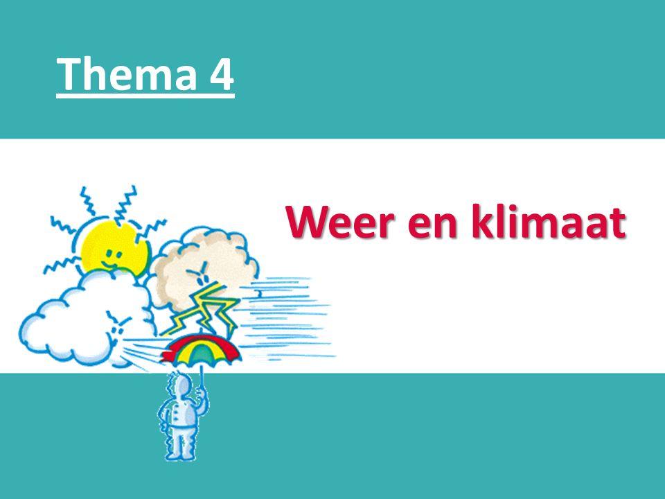Thema 4 d Weer en klimaat