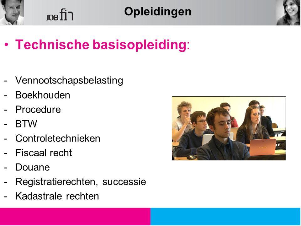 Technische basisopleiding: