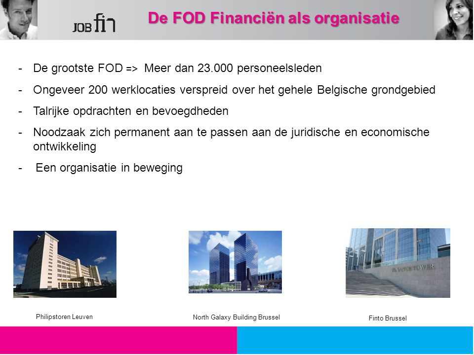 De FOD Financiën als organisatie