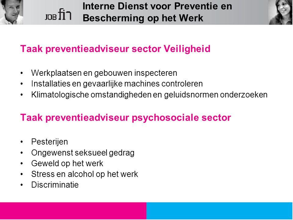 Interne Dienst voor Preventie en Bescherming op het Werk