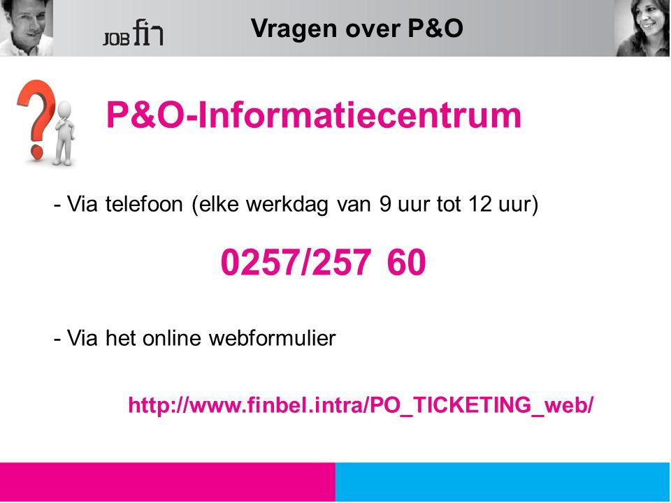 P&O-Informatiecentrum