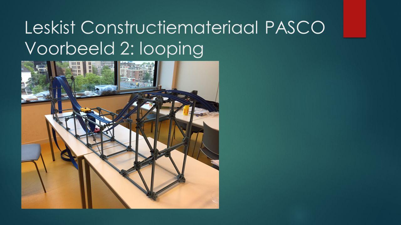 Leskist Constructiemateriaal PASCO Voorbeeld 2: looping