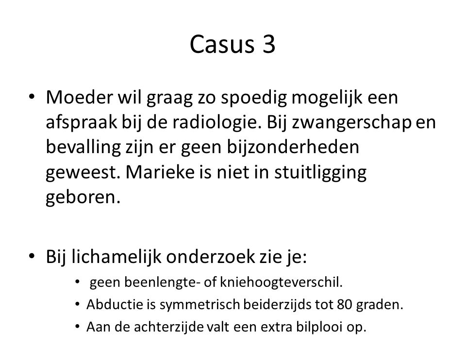 Casus 3