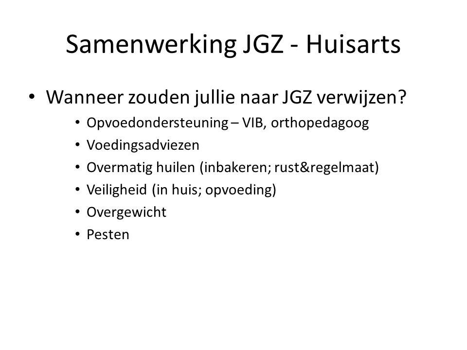 Samenwerking JGZ - Huisarts