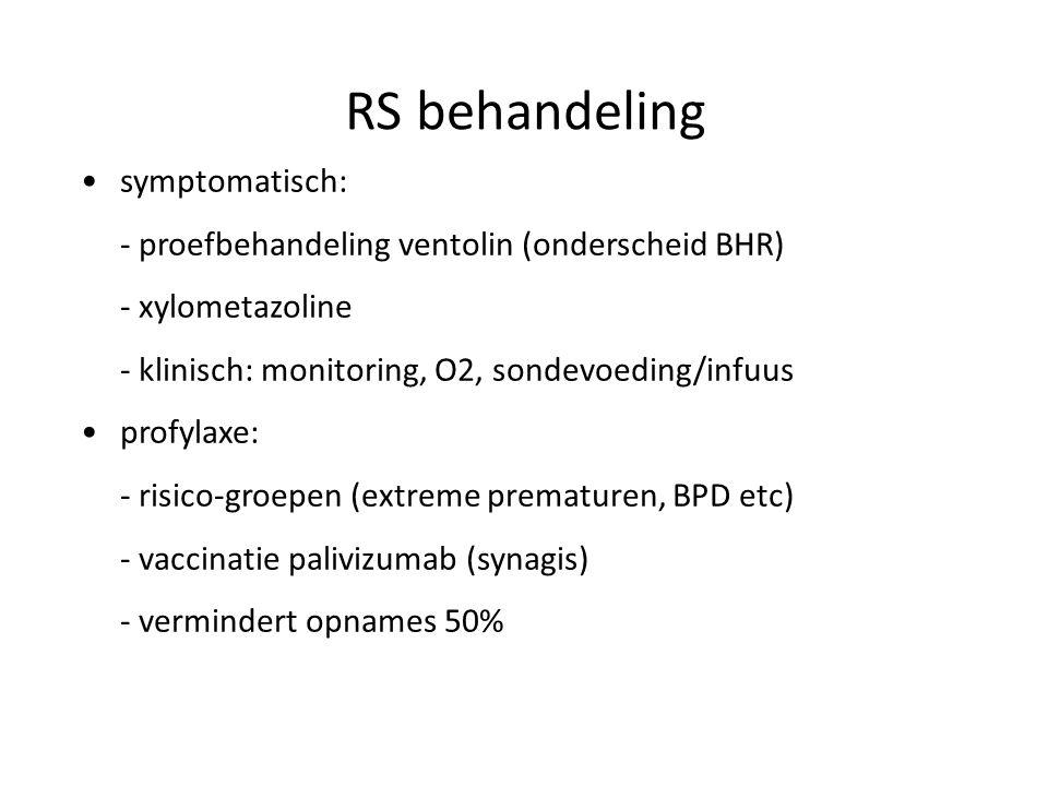 RS behandeling symptomatisch: