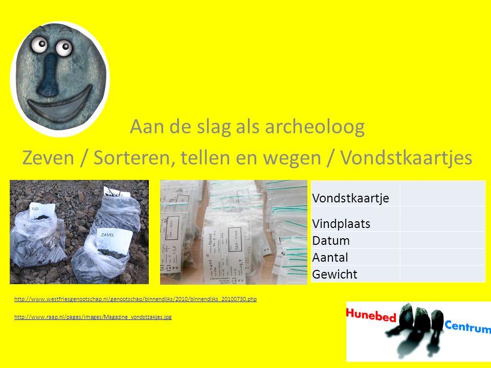 Aan de slag als archeoloog