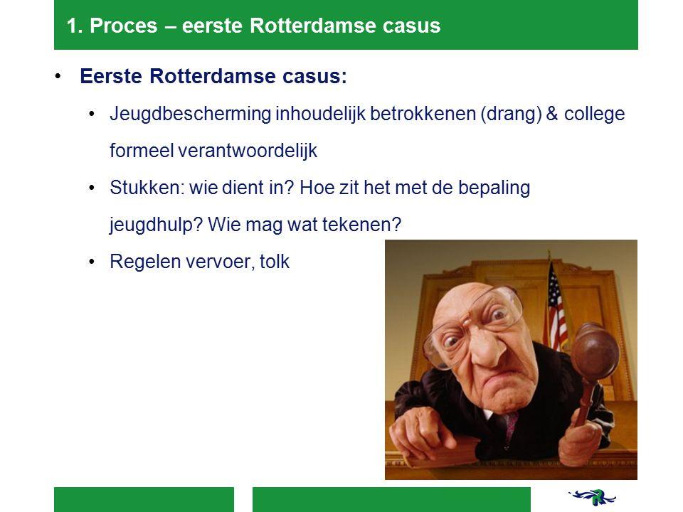 1. Proces – eerste Rotterdamse casus