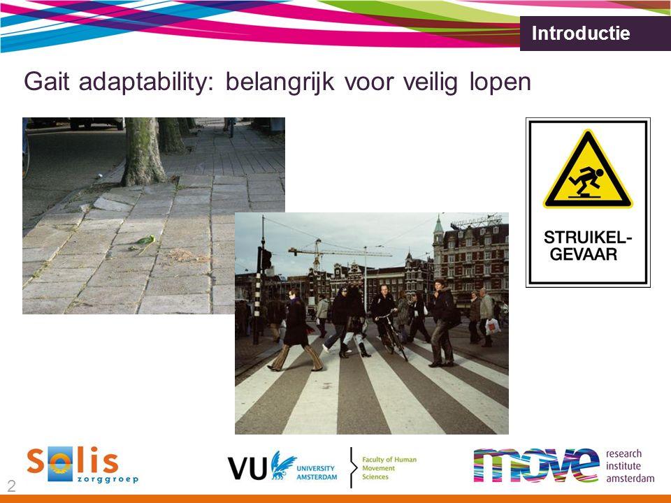 Gait adaptability: belangrijk voor veilig lopen