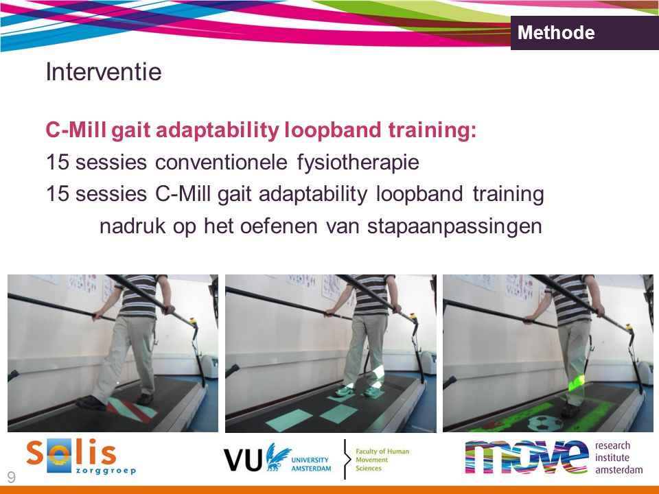 Interventie C-Mill gait adaptability loopband training: