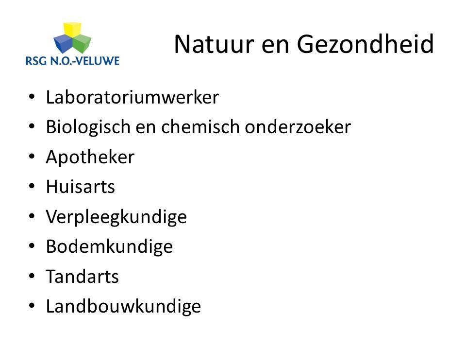 Natuur en Gezondheid Laboratoriumwerker