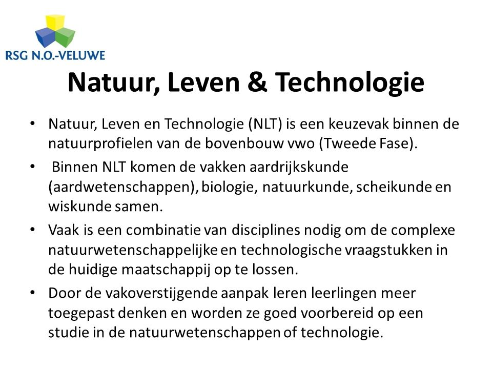 Natuur, Leven & Technologie