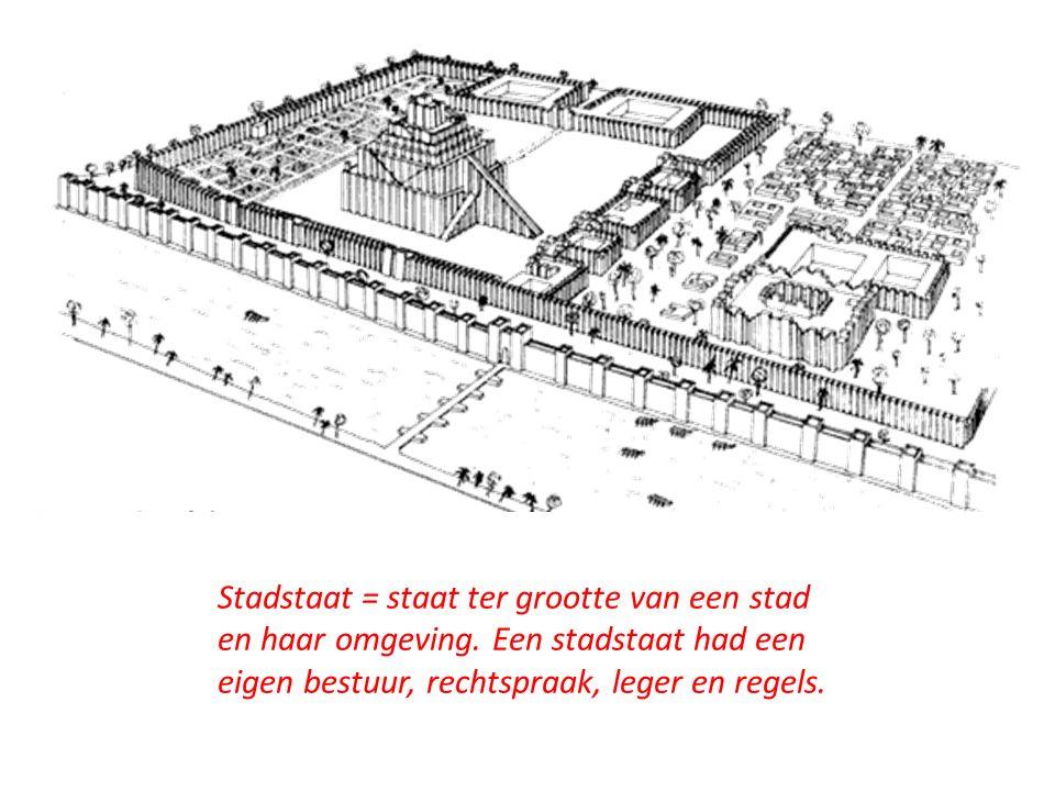 Muren rondom de stadstaat. Afbeelding: Babylon.