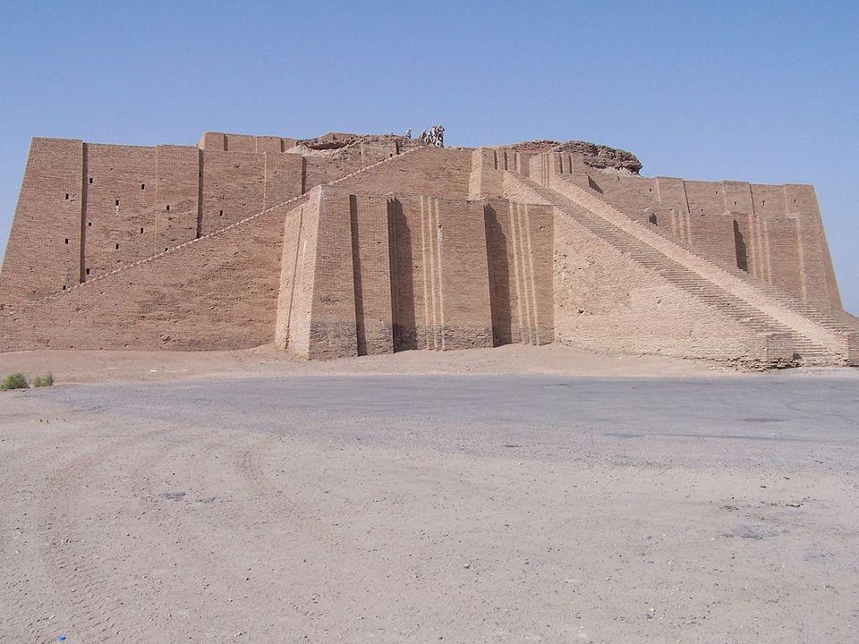 De ziggurat van Uruk.
