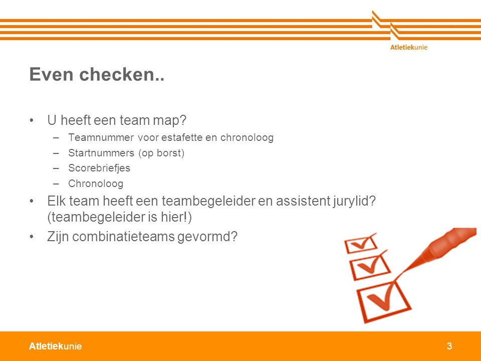 Even checken.. U heeft een team map
