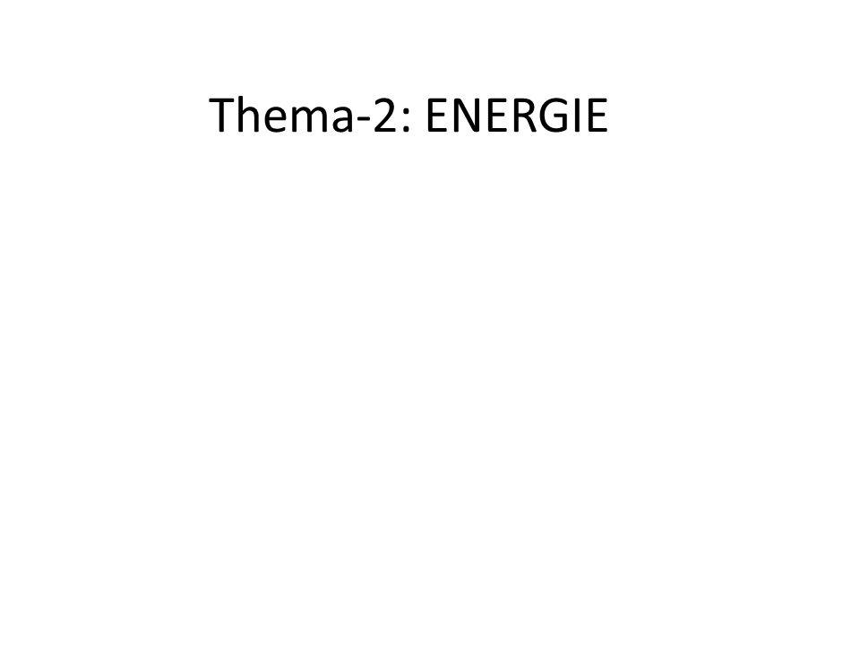 Thema-2: ENERGIE