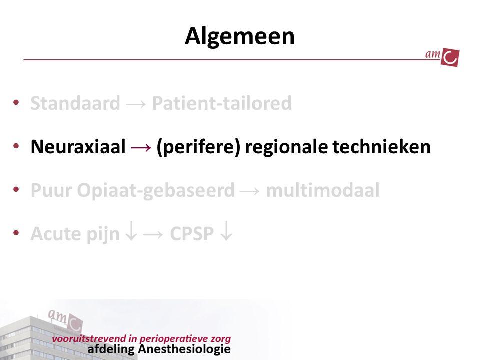 Algemeen Standaard → Patient-tailored