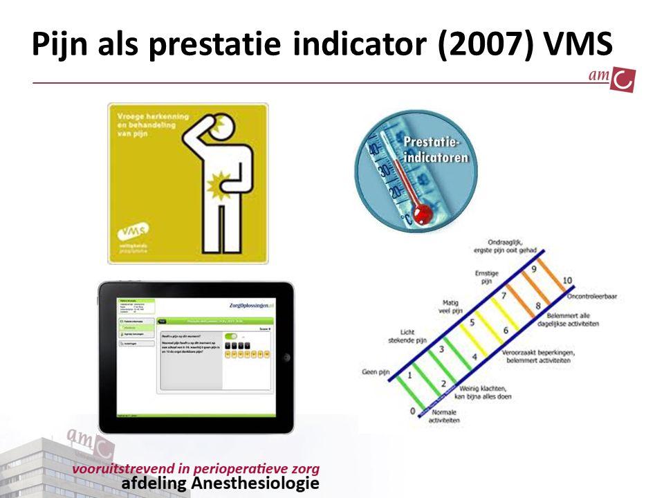 Pijn als prestatie indicator (2007) VMS