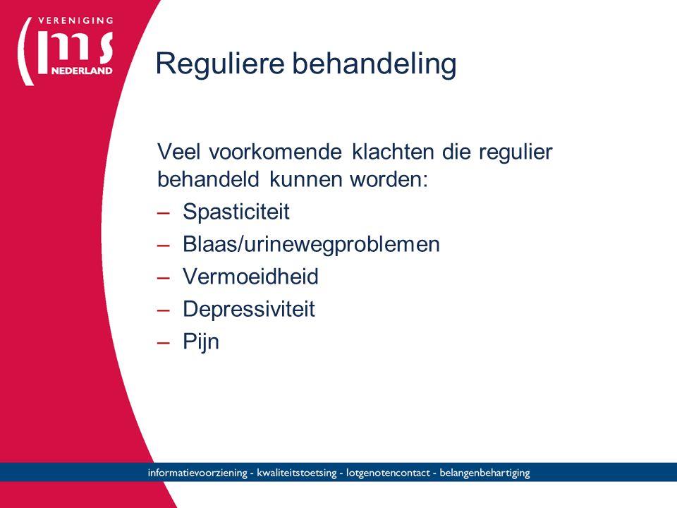 Reguliere behandeling