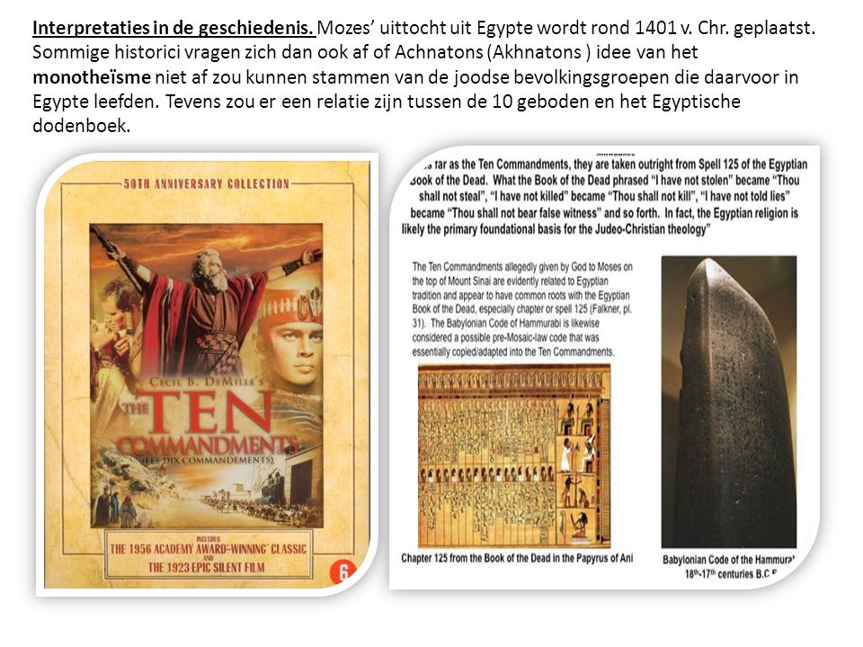 Interpretaties in de geschiedenis