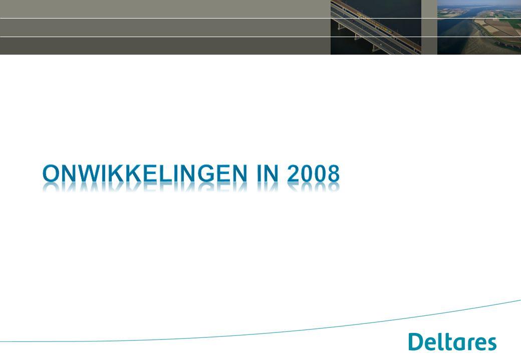 Onwikkelingen in 2008