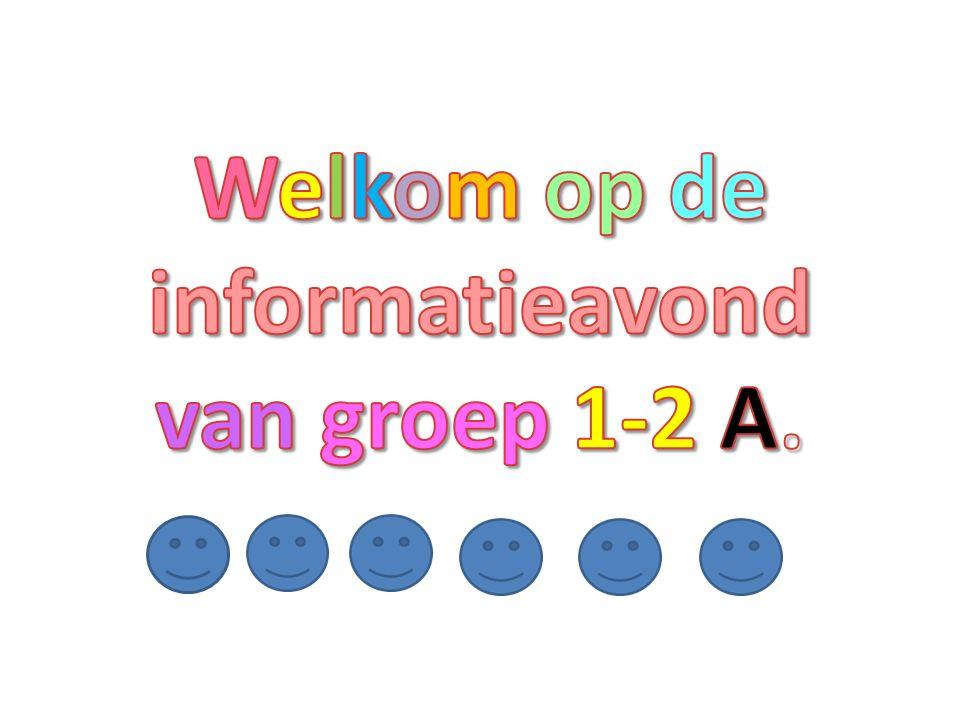 Welkom op de informatieavond van groep 1-2 A.