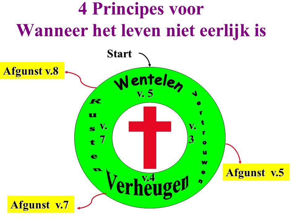 4 Principes voor Wanneer het leven niet eerlijk is