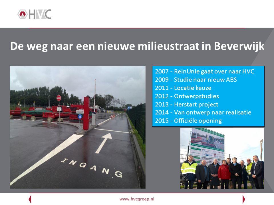 De weg naar een nieuwe milieustraat in Beverwijk