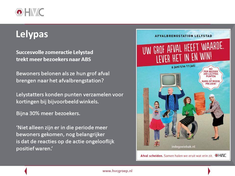 Lelypas Succesvolle zomeractie Lelystad trekt meer bezoekers naar ABS