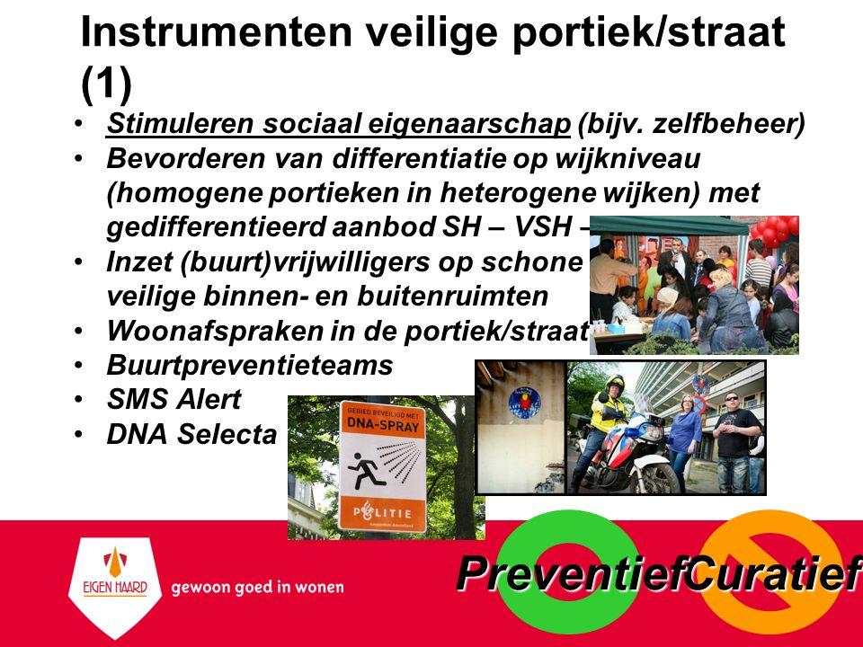 Instrumenten veilige portiek/straat (1)