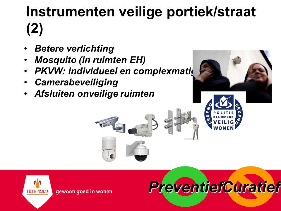 Instrumenten veilige portiek/straat (2)