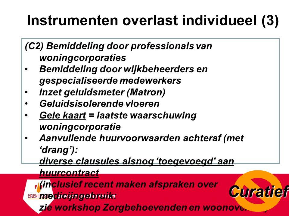 Instrumenten overlast individueel (3)