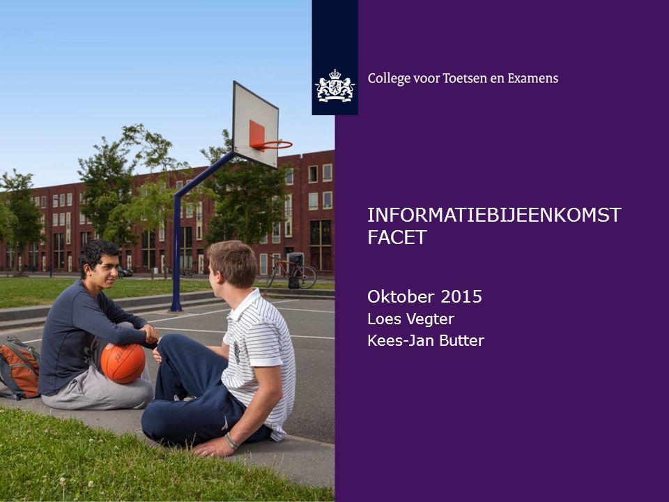 Informatiebijeenkomst FAcet